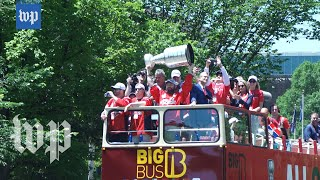 Caps fans flood D.C. streets for Stanley Cup parade: 'It means the world to our city'