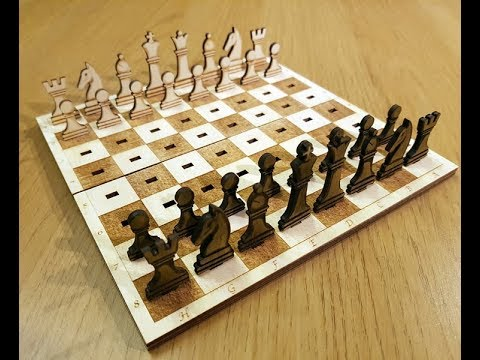 Making a travel chess set - Several to be given away.