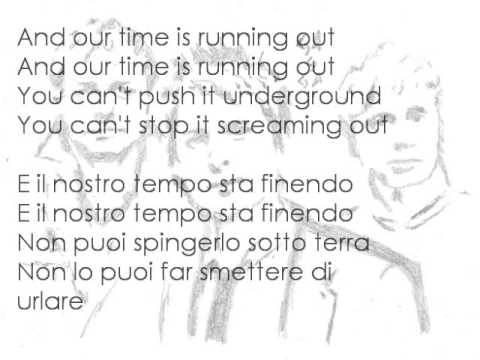 Muse Cover Time Is Running Out With Lyrics Testo Traduzione