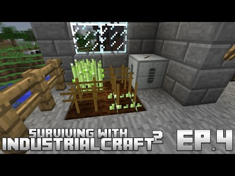Surviving With IndustrialCraft 2 :: Ep.4 - Cross Breeding Crops