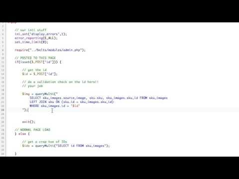 Ajax & PHP Long Running Script + ImagMagik Convert