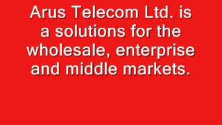 Senem Deniz - Arus Telcom - VOIP Tunisia Direct Route