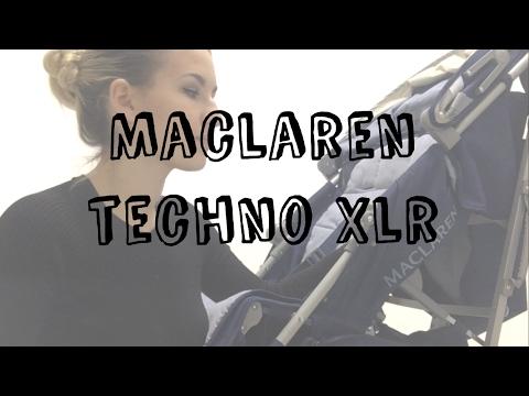 Обзор коляски Maclaren Techno Xlr. Коляска-трость. Лучшая прогулочная коляска
