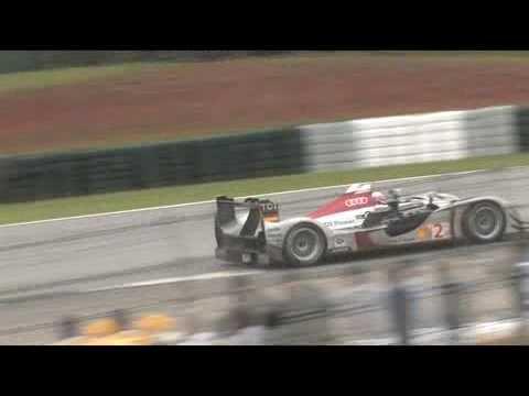 Petit Le Mans: Audi R15 TDI race footage 1