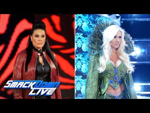 Thumbnail: Shane McMahon ushers Charlotte Flair and Tamina onto the blue brand: SmackDown LIVE, April 11, 2017
