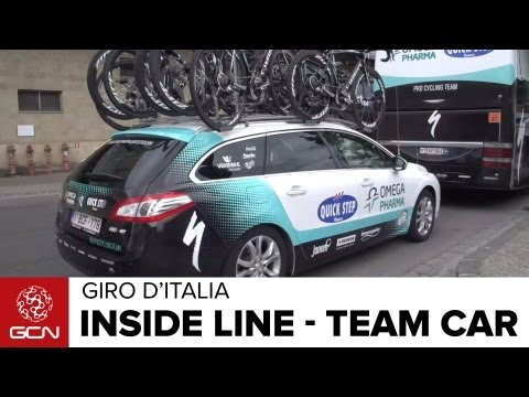 Giro d'Italia - Inside Line On Team Cars
