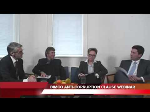 BIMCO Anti Corruption Clause Webinar