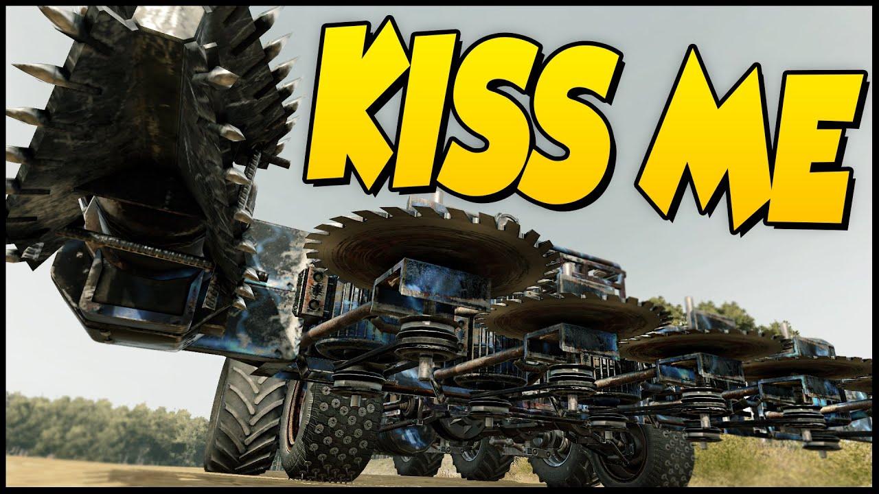 Crossout BEST VEHICLE - Let Me Kiss You! - Melee Build ...