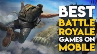 Top 10 best battle Royale games like pubg Android (2018)