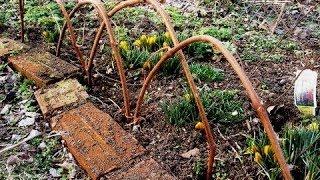 �������� ���� Как сделать простую изгородь быстро и без заморочек ������