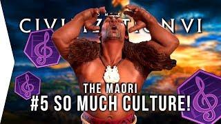 Let's Play Civ 6 Gathering Storm ► #5 Maori Renaissance & CULTURE! - [Civilization VI Gameplay]