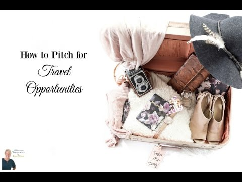 IE 21: How to Pitch for Travel Opportunities
