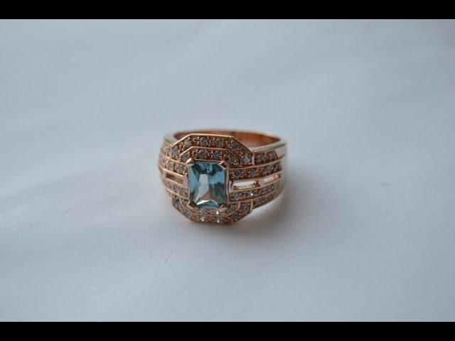 Мужская печатка с камнями\Men's signet ring with stones