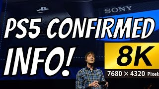 PS5 Official Specs 8k Gaming Backwards Compatible CONFIRMED