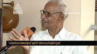 Cartoonist Sukumar turns 88   Interview with Cartoonist Sukumar