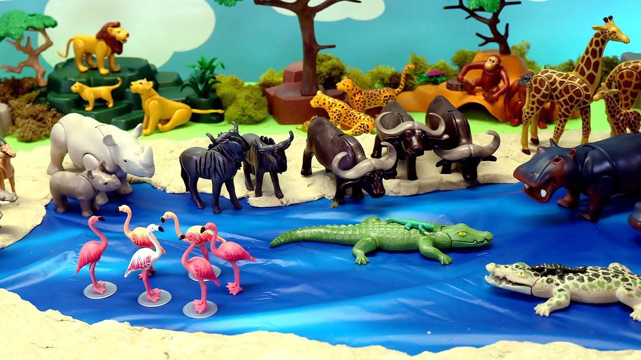 Download Playmobil Animals Figurines Diorama