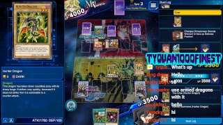 Yu-Gi-Oh! Duel Links Gaming The Vagrant Review Cyberdark Dragon Deck PVP Game Play  Part 6