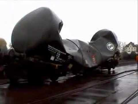 Tank car implosion d'un wagon citerne