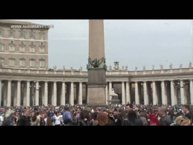 Monuments of Rome: Easter 2009, Piazza San Pietro