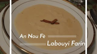 Haitian Recipes: Labouyi Farin   Haitian Porridge