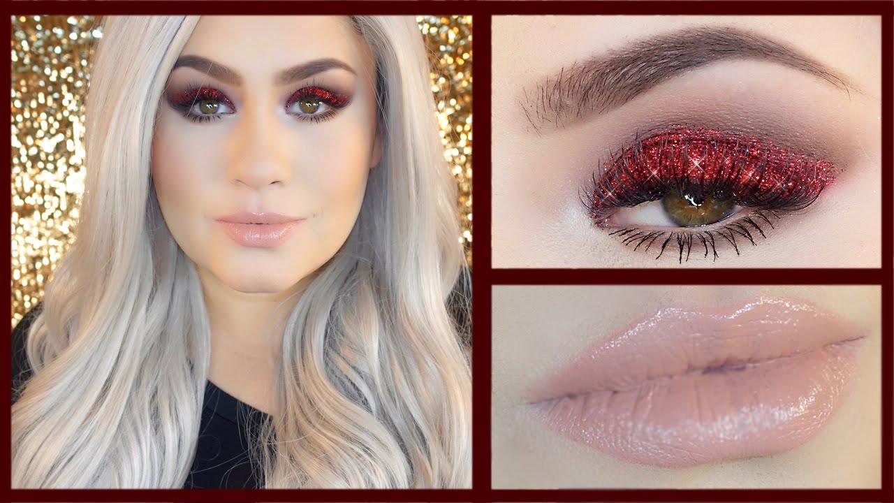 LADY GAGA Super Bowl Makeup Inspired Look