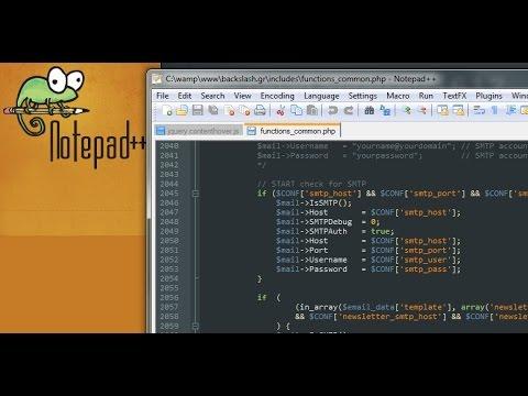 Useful Notepad++ Plugins Tutorial