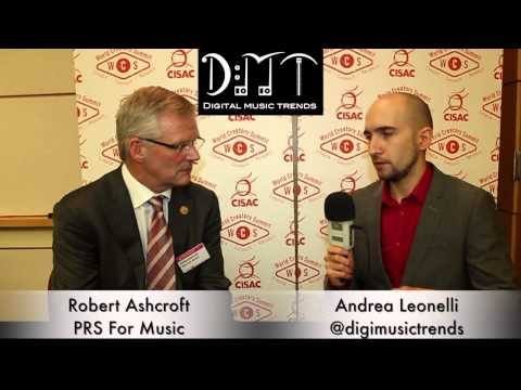 Robert Ashcroft, Chief Executive at PRS for Music (DMT at the World Creators Summit) Mp3