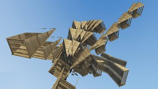 CRAZY AIR RAMP SPAWNER MOD! (GTA 5 Mods Funny Moments)