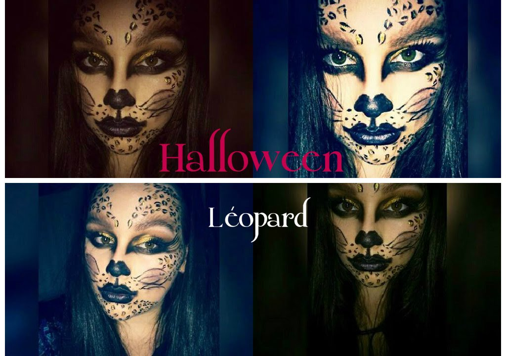 maquillage halloween l opard facile youtube. Black Bedroom Furniture Sets. Home Design Ideas