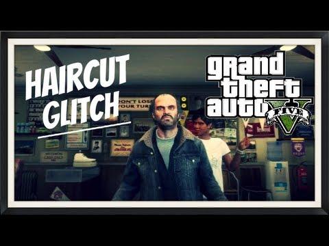 Grand Theft Auto V Haircut Glitch New Youtube