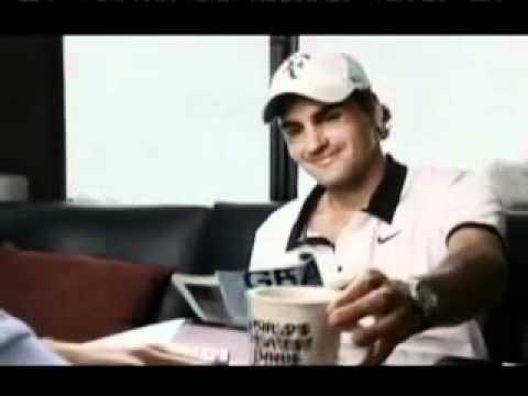 Roger Federer-US Open Commercial
