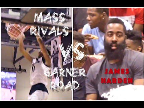 Garner Road vs Mass Rivals || 2016 17U Adidas Championships w/ JAMES HARDEN