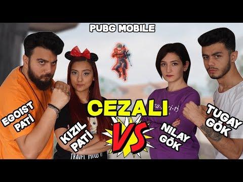 TOPUKLU AYAKKABI CEZALI TUGAY GÖK Ve EŞLERİMİZLE VS ATTIK! PUBG Mobile ( 4 Youtuber Kapıştık)