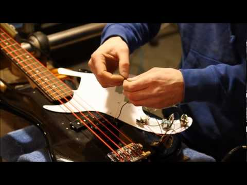How to install an Aguilar OBP-2 Bass Preamp