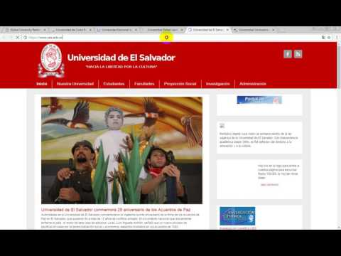 The Global Regions Rankings of the top 5 Universities of Central America part2