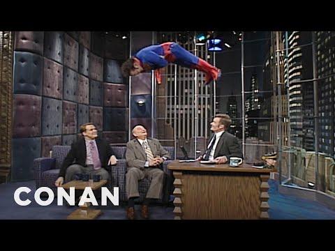 "Rob Schneider's ""Late Night"" Drop In  - CONAN on TBS"