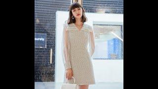 Женское винтажное платье yigelila элегантное приталенное платье 65976 купить с Aliexpress