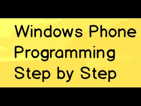 How To Create A Simple Windows Phone Application ?