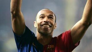Thierry Henry - Best goals for FC Barcelona (2007-2010) / أساطير برشلونة: أهداف تييري هنري