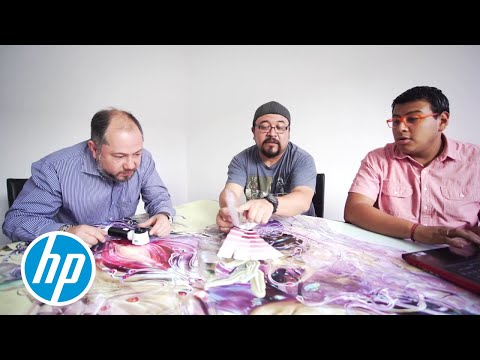 Björk Digital experience the power of printing with HP Latex in Mexico