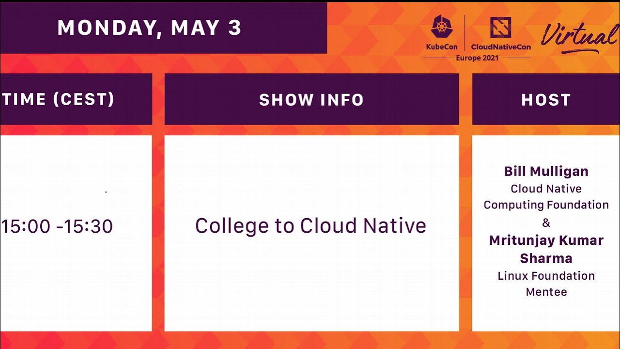 College to Cloud Native