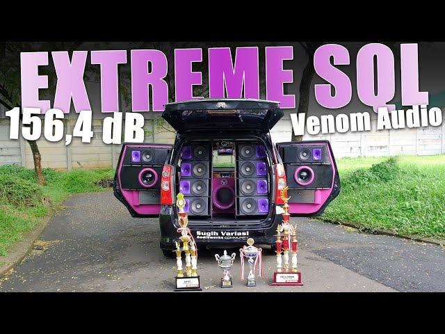 Modifikasi Daihatsu Xenia Full Venom Audio 2019 | Juara SQL 156,4 dB | Sugih Variasi