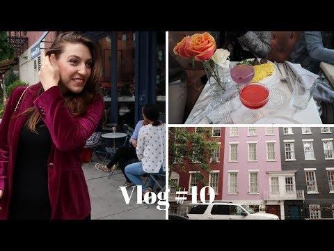 Vlog #10 | Saturday Brunch & Exploring West Village