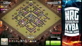 Clash of Clans - 3 star war attacks - Total domination - Dutch Spoken