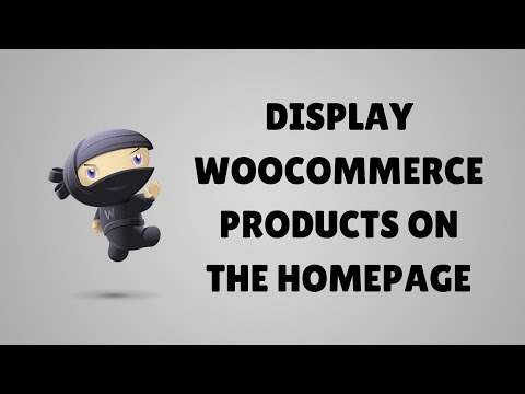 How to display WooCommerce products on the homepage - Conductor