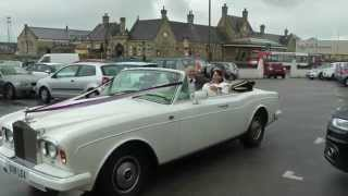 Lea Cars Rolls Royce and Mercedes Limousine wedding cars at Ashton Memorial