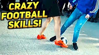 SkillTwins AMAZING Panna/Freestyle Football Skills In Germany! ★ (With Volkswagen)