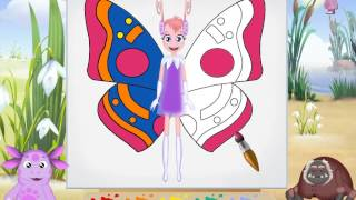 Обучающийй мультфильм для детей Лунтик:Картины маслом.Развивающий мультфильм для детей.