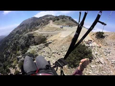 Crash top landing Babadag, Olu Deniz, Turkey pre SIV. May, 2015