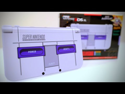 HANDS ON! NEW Nintendo 3DS XL [SUPER NES EDITION]